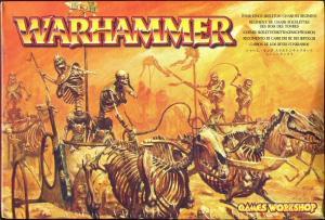 Наездники на Колеснице Царей Гробниц (Tomb Kings Skeleton Chariots)