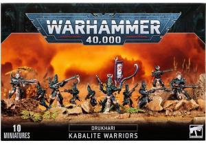Воины Кабала Тёмных Эльдар (Dark Eldar Kabalite Warriors)