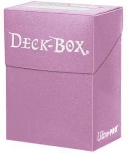 Пластиковая коробочка Ultra-Pro розового цвета