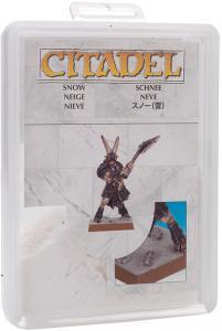 Модельный снег, новая версия (Citadel Modelling Snow)