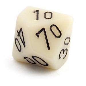10-гранный кубик 15мм - процентник (d100)