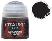 Базовая краска Abaddon Black 21-25