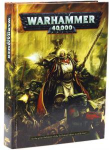 Книга правил Warhammer 40K (6-ая редакция, на английском языке)