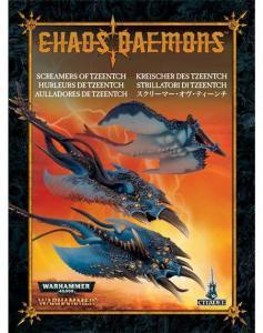 Миниатюры Warhammer 40000: Крикуны Тзинтча, новая версия (Screamers of Tzeentch)