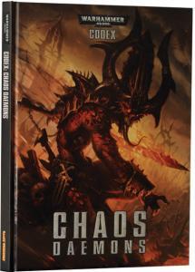 Миниатюры Warhammer 40000: Кодекс: Демоны Хаоса (6-ая редакция, на английском языке)