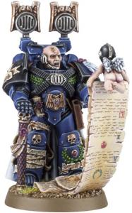 Миниатюры Warhammer 40000: Finecast: Space Marine Captain: Master of the Marches