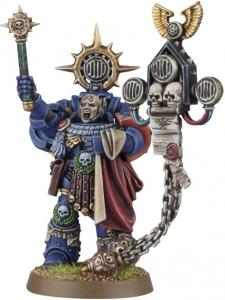 Миниатюры Warhammer 40000: Finecast: Space Marine Captain: Master of the Rites