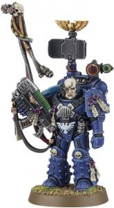Миниатюры Warhammer 40000: Finecast: Space Marine Captain: Master of Relics