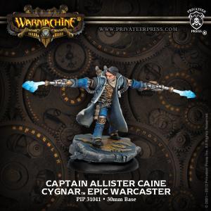 Cygnar: Captain Allister Caine
