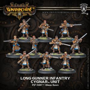 Cygnar: Long Gunner Infantry