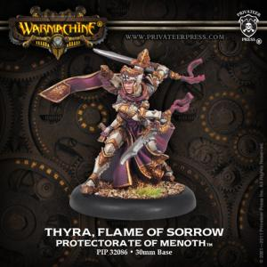 The Protectorate of Menoth: Thyra, Flame of Sorrow