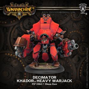Khador: Decimator / Destroyer / Juggernaut / Marauder