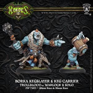Trollbloods: Borka Kegslayer