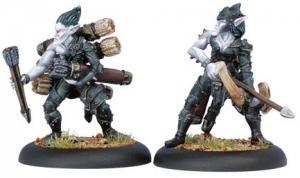 Legion of Everblight: Blighted Archer Officer & Ammo Porter