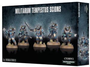 Миниатюры Warhammer 40000: Militarum Tempestus Scions
