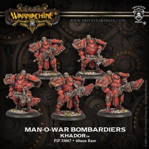 Khador: Man-O-War Bombardiers