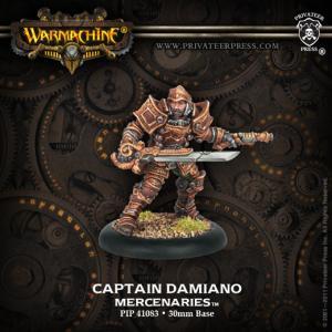 Mercenaries: Captain Damiano