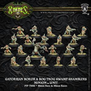 Minions: Gatorman Bokor and Bog Trog Swamp Shamblers