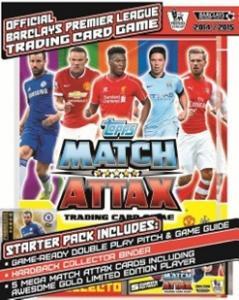 Стартовый набор TOPPS Английская Премьер-Лига 2014-2015. Match Attax