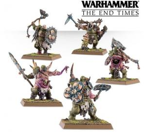 Миниатюры Age of Sigmar: Putrid Blightkings