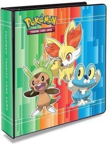 Альбом для карт Pokemon с добавляемыми листами 3х3