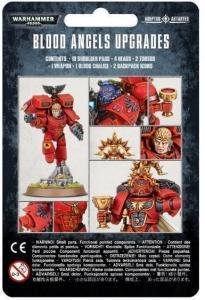 Миниатюры Warhammer 40000: Blood Angels Upgrade Pack