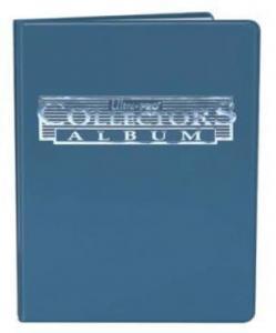 Альбом Ultra-Pro c 10 встроенными листами 3х3 (синий)