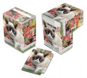 Пластиковая коробочка Ultra-Pro «Grumpy Cat Flowers»