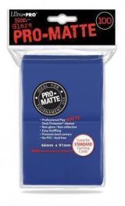 Цветные протекторы Ultra-Pro - Синие матовые (100 шт.)