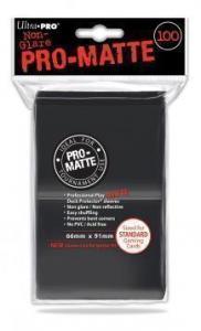 Цветные протекторы Ultra-Pro - Черные матовые (100 шт.)