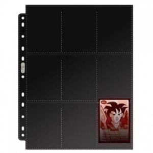 Черный лист Ultra-Pro (3х3) - для любых альбомов