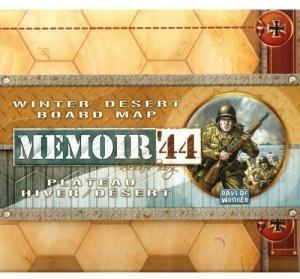 Memoir 44 - Winter / Desert Board Map (на английском)