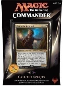MTG: Колода Commander 2015: Call the Spirits