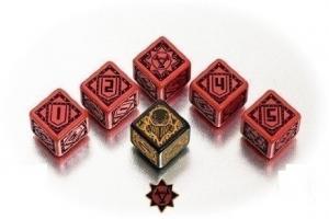 Набор кубиков «Warmachine Khador Faction» (6d6)