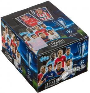 Бокс наклеек TOPPS UEFA Лига Чемпионов 2015-2016. Match Attax