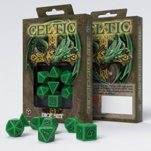 Набор кубиков «CELTIC 3D DICE» зеленый