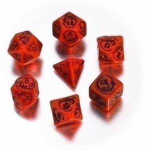 Набор кубиков «DRAGON DICE» красный