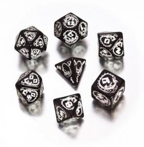 Набор кубиков «DRAGON DICE» черный