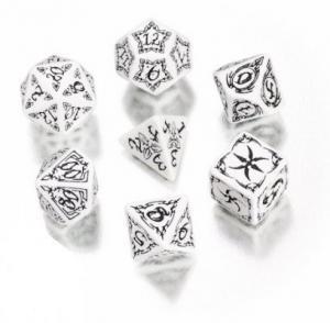 Набор кубиков «TRIBAL DICE» белый