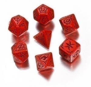 Набор кубиков «TRIBAL DICE» красный