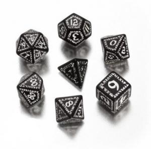 Набор кубиков «RUNIC DICE» черный