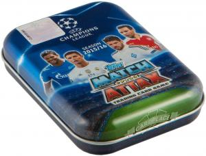 TOPPS UEFA Лига Чемпионов 2015-2016. Match Attax Mini Tin