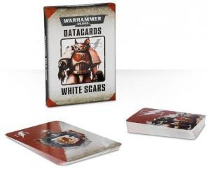 Warhammer 40K: Набор карточек Белых Шрамов