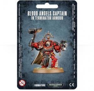Капитан Кровавых Ангелов в Терминаторской Броне (Blood Angels Captain In Terminator Armour)