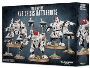 XV8 Crisis Battlesuit Team (новая версия)