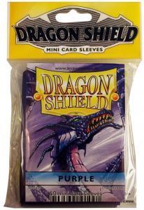 Протекторы Dragon Shield фиолетовые уменьшенного размера (50 шт.)