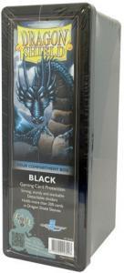 Пластиковая коробочка Dragon Shield с 4 секциями черная