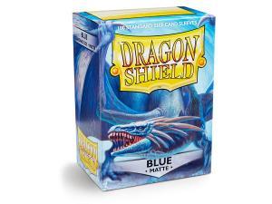 Протекторы Dragon Shield матовые синие (100 шт.)