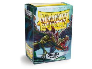 Протекторы Dragon Shield матовые зеленые (100 шт.)