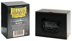 Пластиковая коробочка Dragon Shield черная